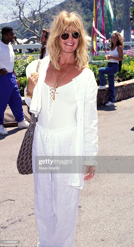 Goldie Hawn during Pediatric Aids Event A Time For Heroes at Private House in Bel Air, California, United States.