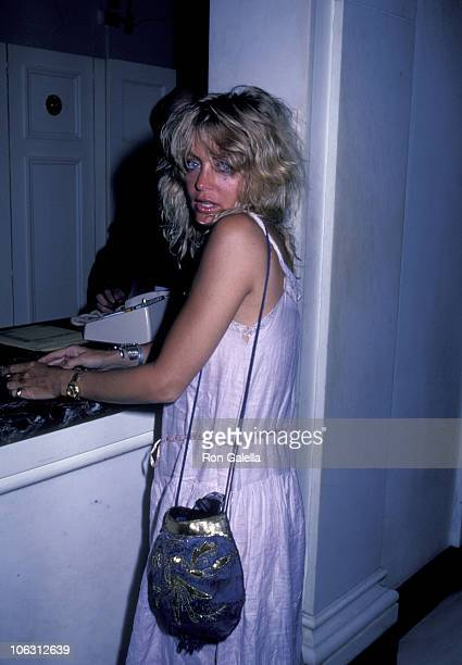 Goldie Hawn during 'Sophisticated Ladies' Performance at Broadway in New York City New York United States