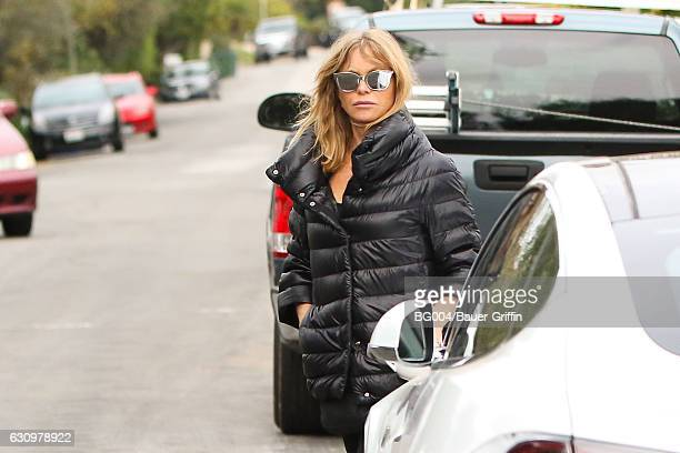 Goldie Hawn is seen on January 04 2017 in Los Angeles California