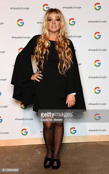 Goldierocks attends the launch of Google's new phone 'Pixel' with an exclusive live performance from Craig David in front of a starstudded audience...
