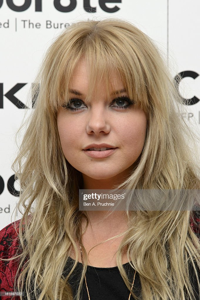 Goldierocks attends the premiere of Rankin's Collabor8te connected by NOKIA at Regent Street Cinema on February 12, 2013 in London, England.