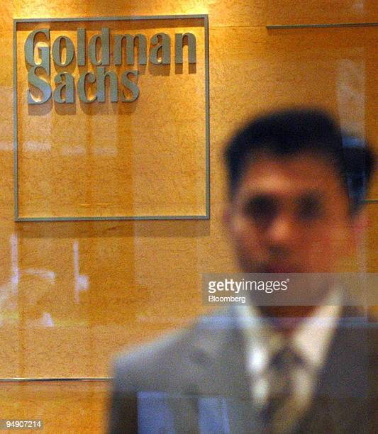 Goldman Sachs employee at the company's Japan headquarters in Tokyo's Roppongi Hills Wednesday June 30 2004