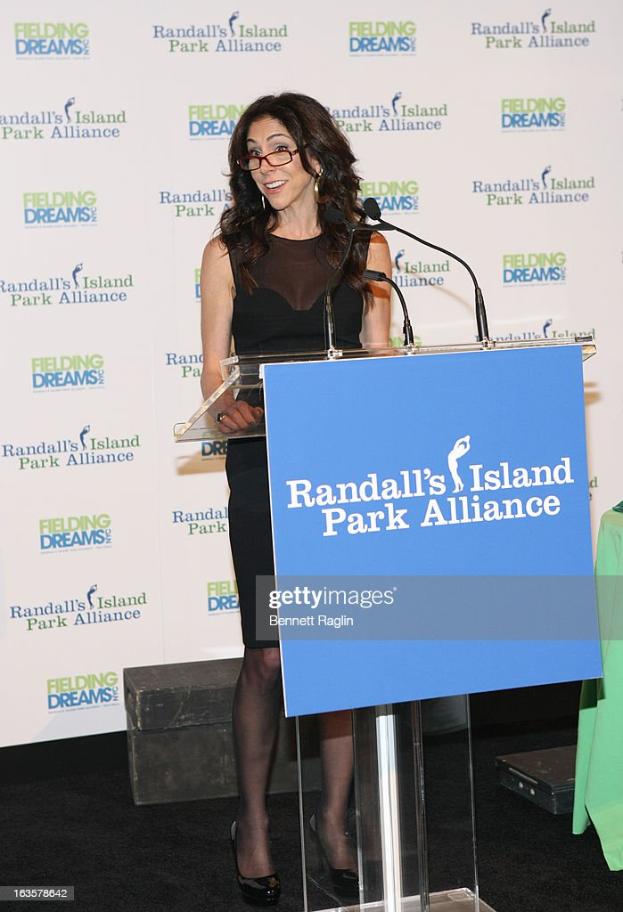 Goldman Sachs Partner Stacy Bash-Polley attends the Randall's Island Park Alliance Fielding Dreams 2013 Gala at American Museum of Natural History on March 12, 2013 in New York City.