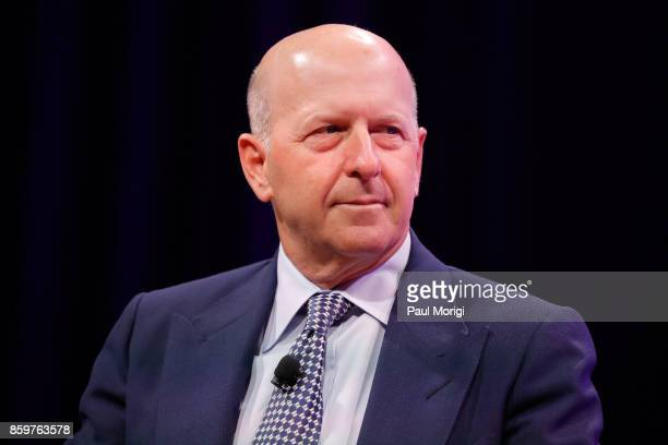 Goldman Sachs President and CoCOO David Solomon speaks onstage at Fortune Most Powerful Women Summit Day 2 on October 10 2017 in Washington DC