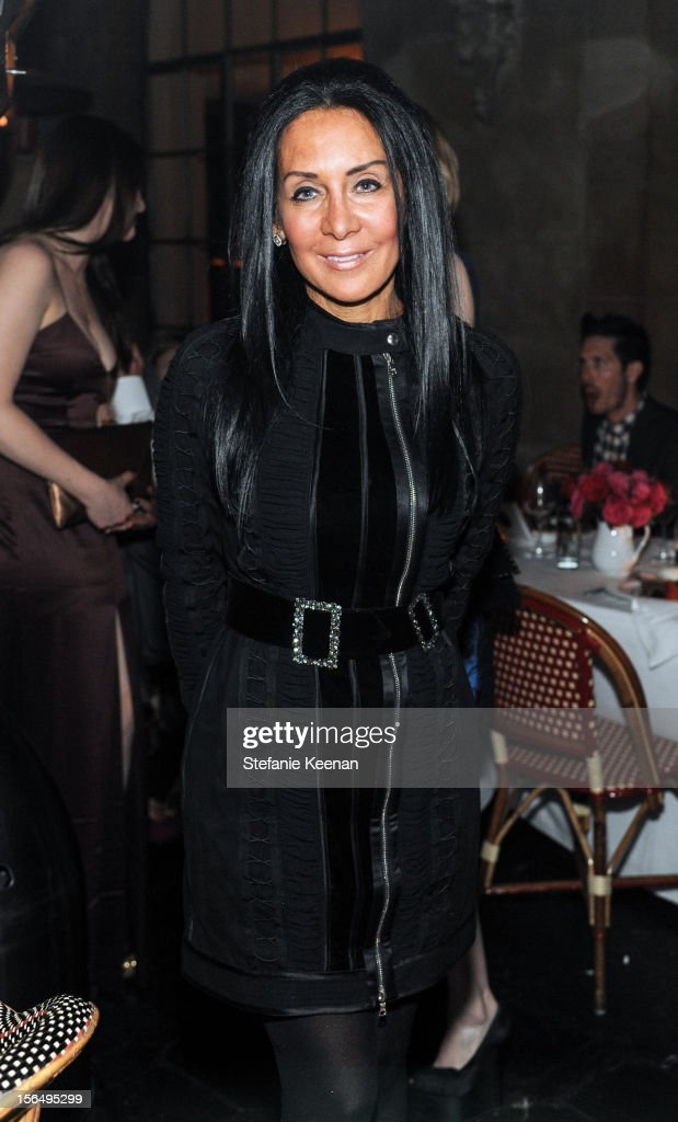 NJ Goldston attends Juan Carlos Obando Jewelry Collection Launch Dinner at Chateau Marmont on November 15, 2012 in Los Angeles, California.