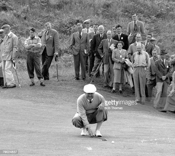 golf  1951 british open championship at royal portrush in