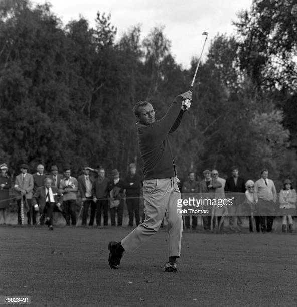 Golf 1967 Piccadilly World Matchplay Championship The 1967 winner Arnold Palmer USA