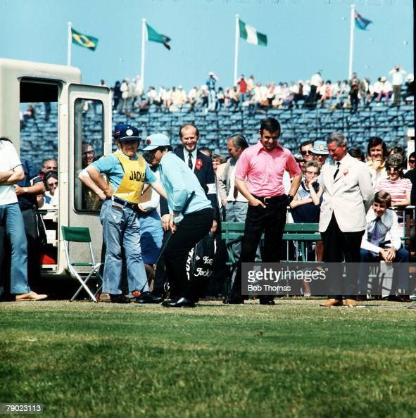 golf  1972 british open golf championship  muirfield