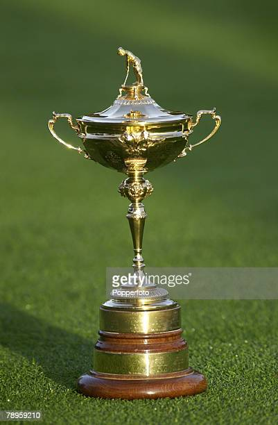 Golf 34th Ryder Cup Matches The Belfry England 25th September 2002 Europe 15 1/2 beat USA 12 1/2 The Ryder Cup trophy