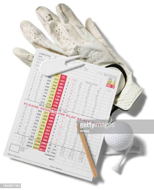 Golf and Score Card