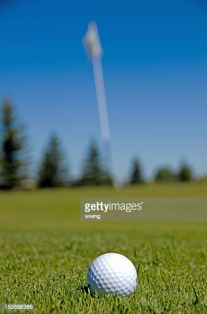 Golf Ball and Pin
