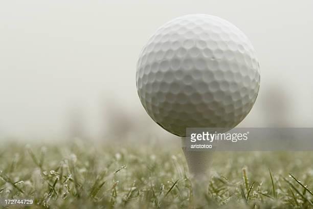 Golf Ball & escarcha
