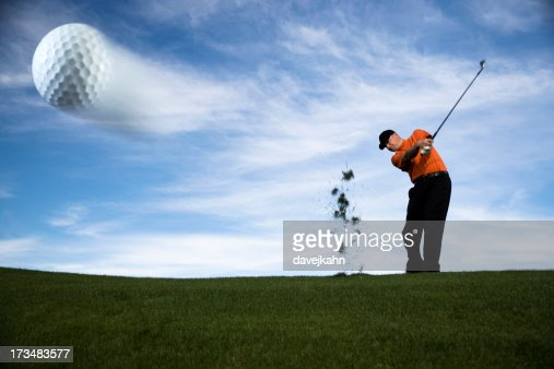 Golf Ball in Motion