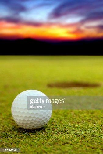 Pelota de Golf : Foto de stock