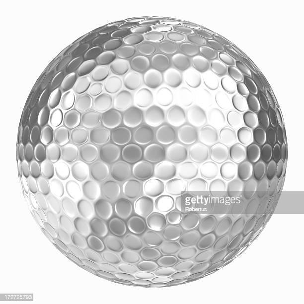 ゴルフボールシルバー