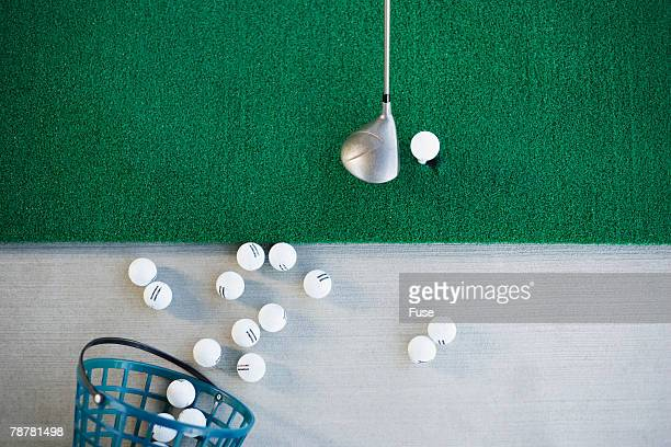 Golf Balls and Club