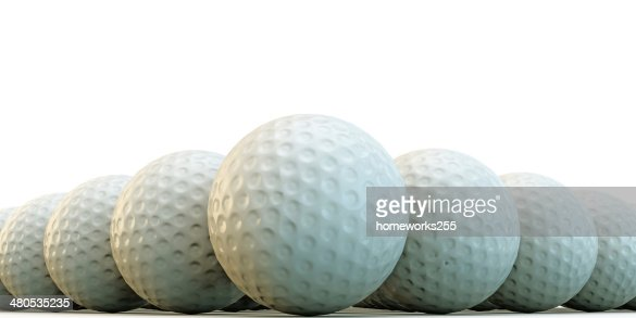 Balles de golf : Photo