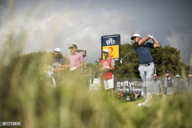 British Open Brooks Koepka in action during Saturday play at Royal Birkdale GC Southport England 7/22/2017 CREDIT Thomas Lovelock