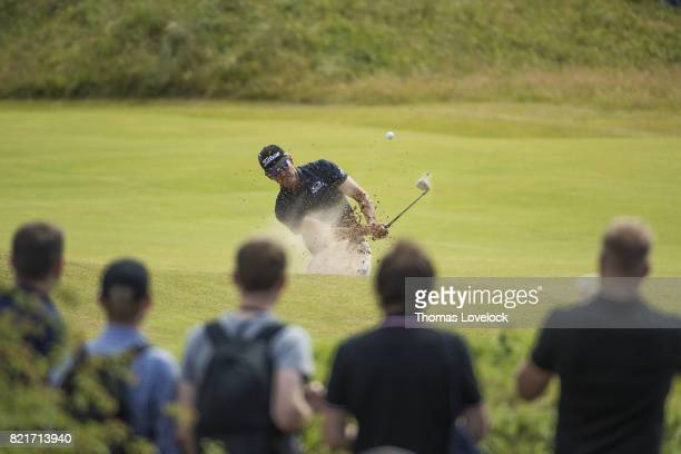 British Open Rafael CabreraBello in action during Saturday play at Royal Birkdale GC Southport England 7/22/2017 CREDIT Thomas Lovelock