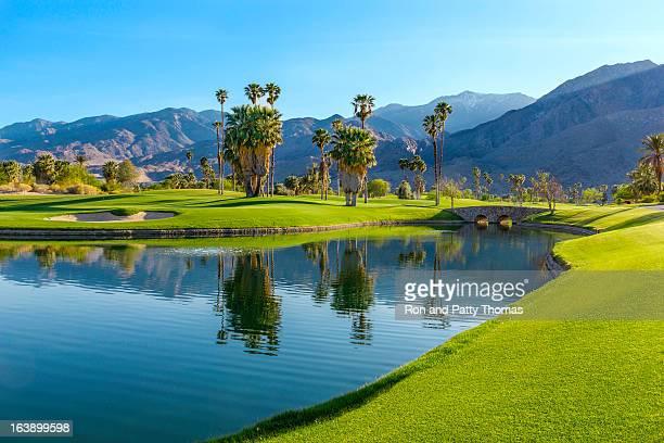 ゴルフコースでカリフォルニア州パームスプリングス(P )