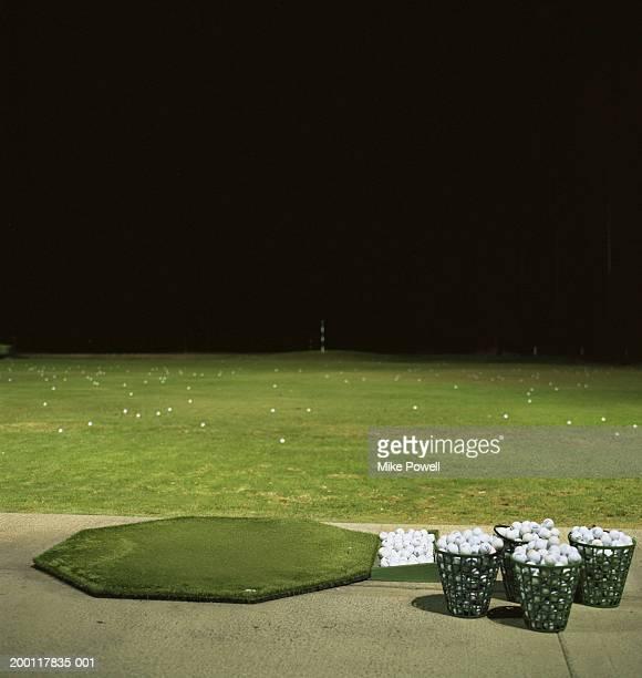 ゴルフ練習場でのご宿泊