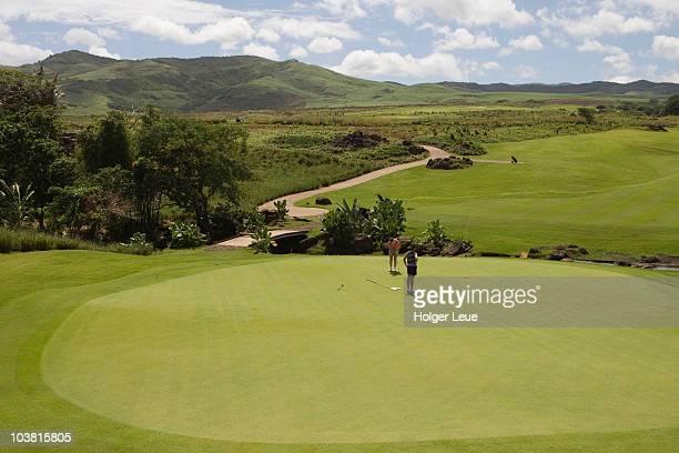 Golf du Chateau golf course.