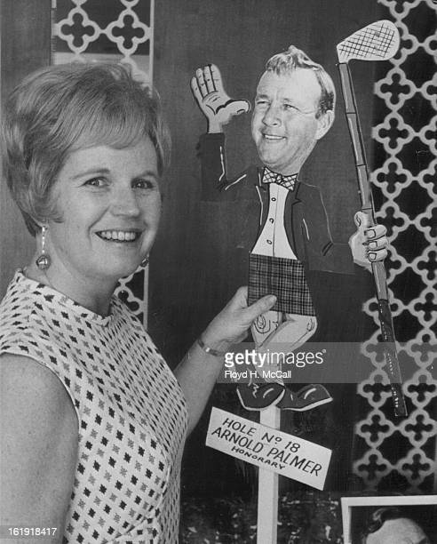 APR 9 1969 JUL 25 1969 Golf Exhibit Set at Columbine Country Club Arnold Palmer will be one of the touring pros to appear at Aug 26 golfing exhibit...