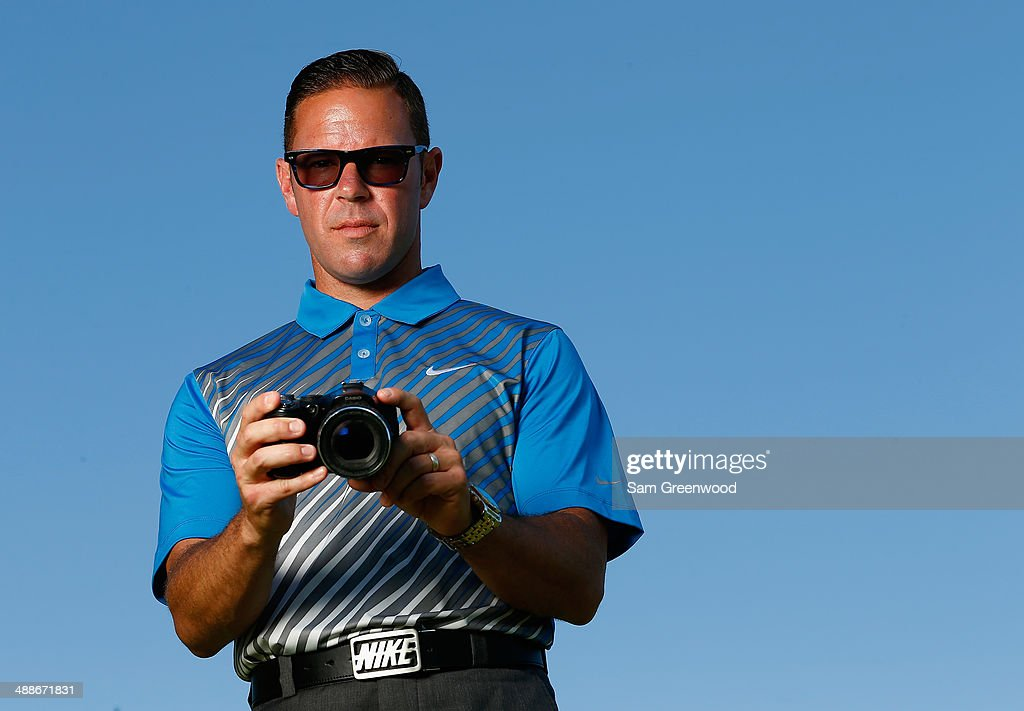 Golf instructor Sean Foley poses on the practice ground ahead of THE PLAYERS Championship on The Stadium Course at TPC Sawgrass on May 7, 2014 in Ponte Vedra Beach, Florida.