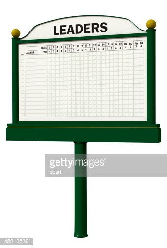 Golf Leader Board