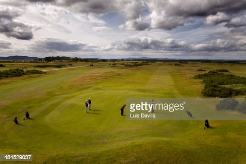 Golf Link Clubs House. St. Andrews. scotland