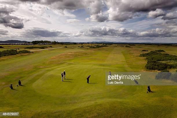 Golf Link Clubs House. St. Andrews. scotland