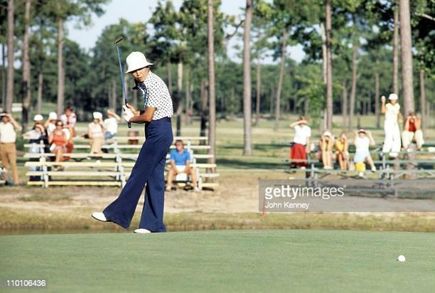 LPGA Championship Japan Hisako Huguchi or Chako Higuchi in action during play at Bay Tree Golf PlantationLittle River SC 7/10/1977CREDIT John Kenney