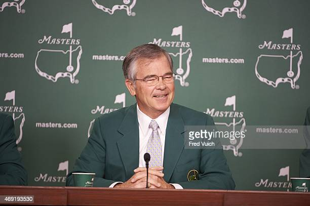 Masters Preview Augusta National chairman Billy Payne during press conference before Par 3 tournament on Wednesday at Augusta National Augusta GA...