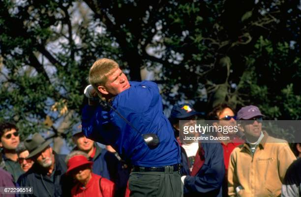 Nissan Open John Daly in action drive during Sunday play at Riviera CC Pacific Palisades CA CREDIT Jacqueline Duvoisin