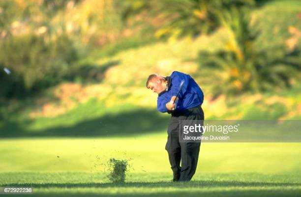 Nissan Open John Daly in action during Sunday play at Riviera CC Pacific Palisades CA CREDIT Jacqueline Duvoisin