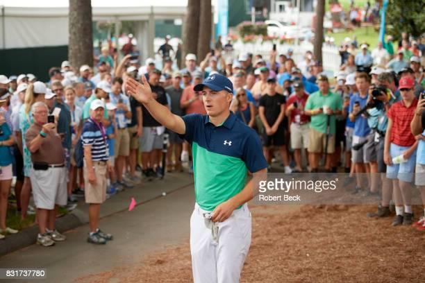 PGA Championship Jordan Spieth during Friday play at Quail Hollow Club Charlotte NC CREDIT Robert Beck