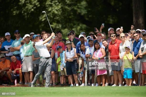 PGA Championship Jordan Spieth in action during Saturday play at Quail Hollow Club Charlotte NC CREDIT Robert Beck