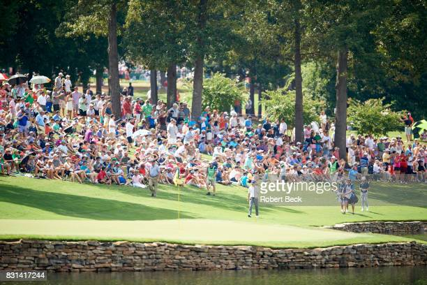PGA Championship Jordan Spieth walking on fairway during Saturday play at Quail Hollow Club Charlotte NC CREDIT Robert Beck