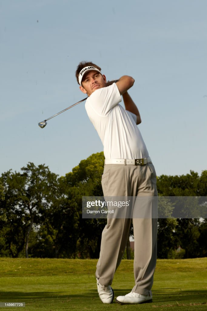 Portrait of Louis Oosthuizen in action during photo shoot at Colonial CC. Darren Carroll F15 )
