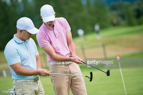 Enseignement Male golfeur Pro du Golf