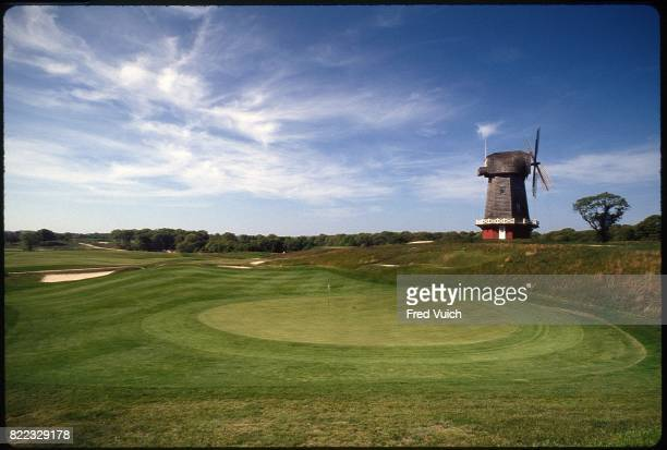 Scenic view of No 16 hole at National Golf Links of America Southampton NY CREDIT Fred Vuich
