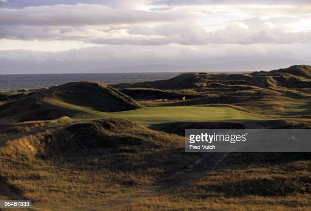 Scenic view of No 8 at Royal Troon Troon Scotland 1/1/1996 CREDIT Fred Vuich