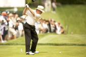 Senior PGA Championship Tom Kite in action on Sunday at Canterbury GC Beachwood OH 5/24/2009 CREDIT Darren Carroll