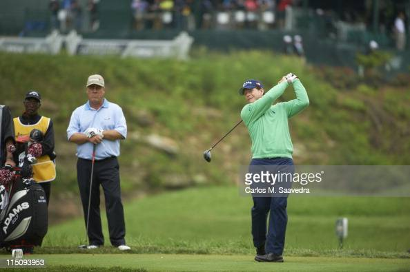 Senior PGA Championship Tom Watson in action drive from tee on Friday at Valhalla GC Champions Tour Louisville KY CREDIT Carlos M Saavedra