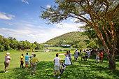 Golf Spectators Sun City