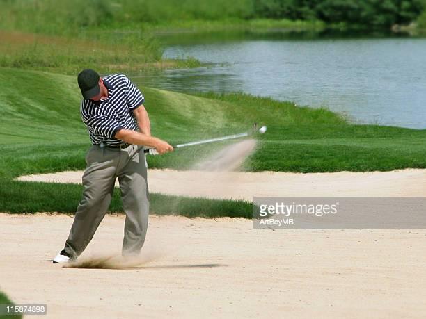 Golf swing - ball in motion