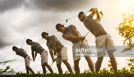 Golf Swing Image Sequence