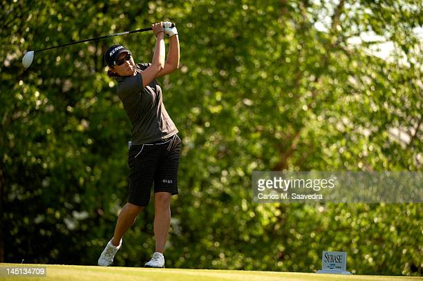 Sybase Match Play Championship Candie Kung in action drive during Sunday play at Hamilton Farm GC Gladstone NJ CREDIT Carlos M Saavedra