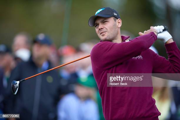 The Masters Closeup of Martin Kaymer in action during Thursday play at Augusta National Augusta GA CREDIT Robert Beck