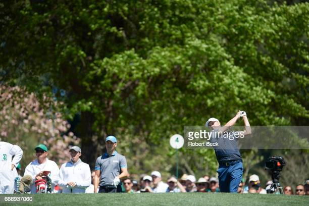 The Masters Jordan Spieth in action during Friday play at Augusta National Augusta GA CREDIT Robert Beck